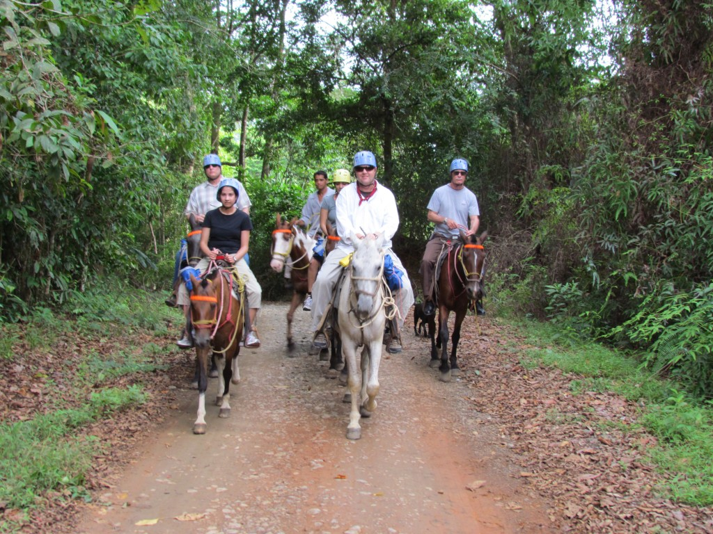 Tocori Waterfalls Horseback Riding