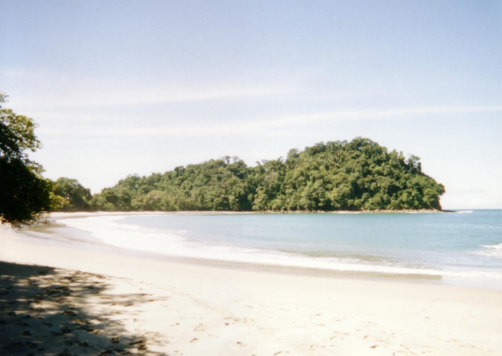 Beach at Manuel Antonio, Costa Rica